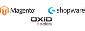 E-Commerce Cloud Hosting mit Magento, Shopware, OXID