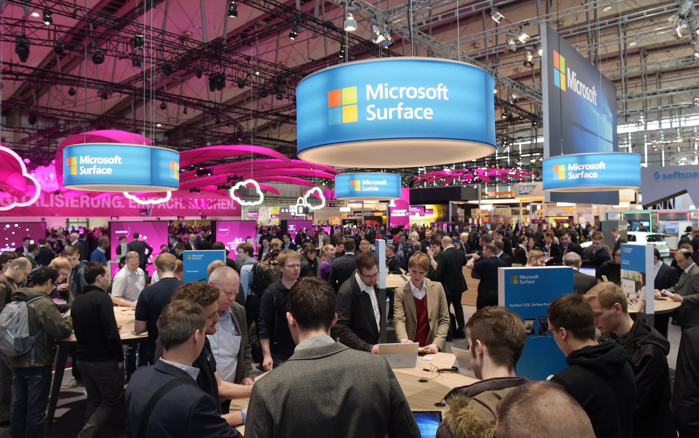Foto: Deutsche Messe AG – Digital Business Solutions CeBIT 2016, Hall 4