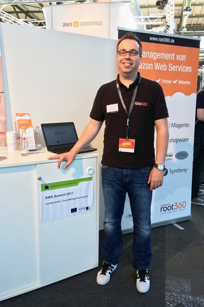 Steffen Drya root360 AWS Summit Berlin