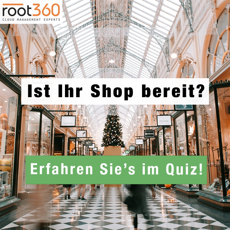 Cyber Monday Quiz Weihnachten Shop Traffic Last
