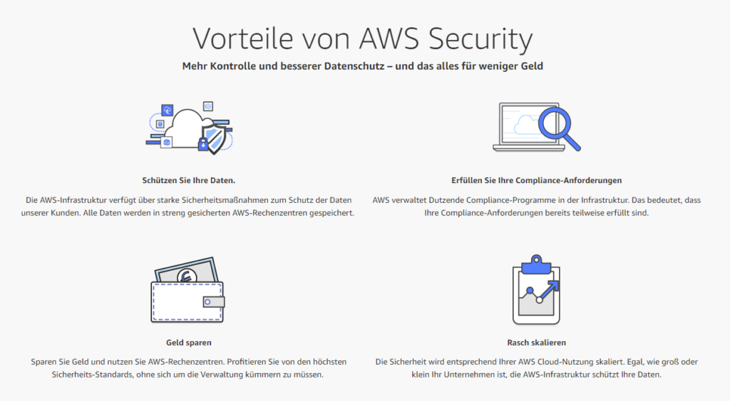 Cloud Sicherheit AWS