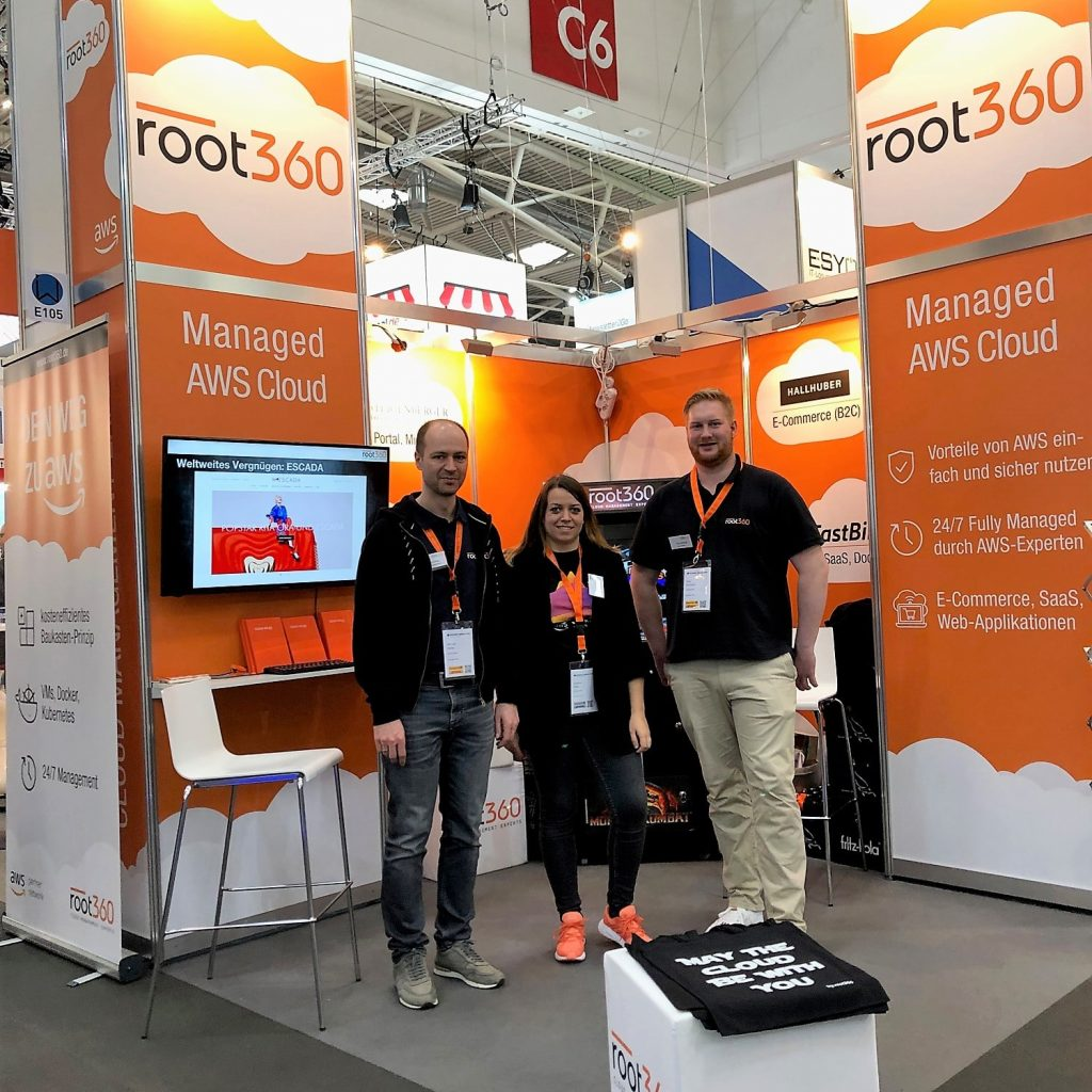 Root360 Auf Der Internet World Expo 2019