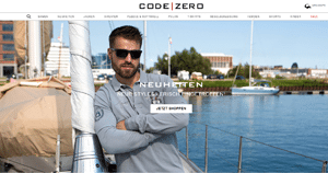 CODE ZERO - Referenz E-Commerce Cloud Hosting Root360
