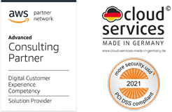 AWS Advanced Consulting Partner, DCX Kompetenz, PCI-DSS und Cloud Services Made in Germany